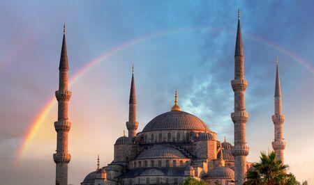 Istanbul - Blue mosque, Turkey photo