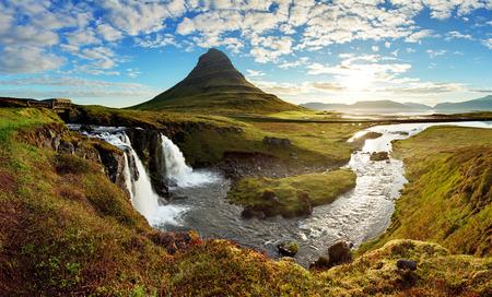 Het landschap van IJsland