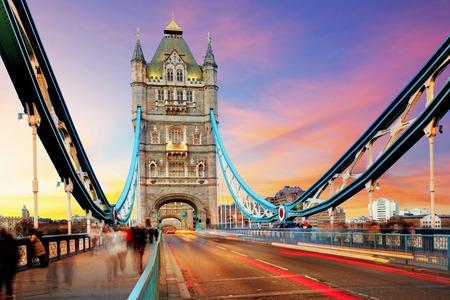 old bridge: Tower bridge - London