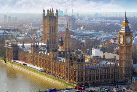 european parliament: Big Ben and Houses of Parliament, London, UK