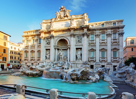 Fountain di Trevi, Rome, Italy Stock Photo