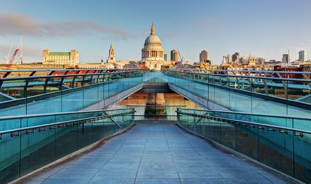 Cathedral St. Paul - London, UK Stock Photo