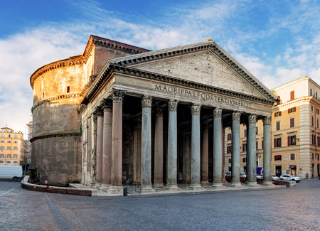 obelisk stone: Rome -  pantheon
