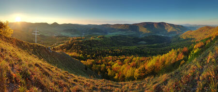Mountain panorama in Slovakia  photo