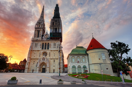 Zagreb cathedral photo