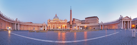 Panoramic view of Vatican city, Rome
