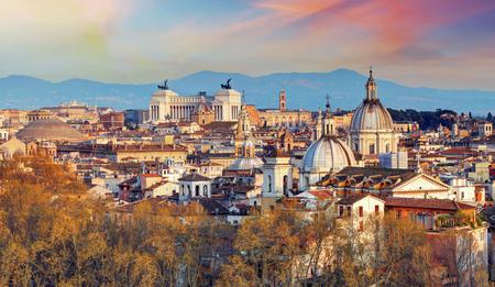 Roma - orizzonte, Italia