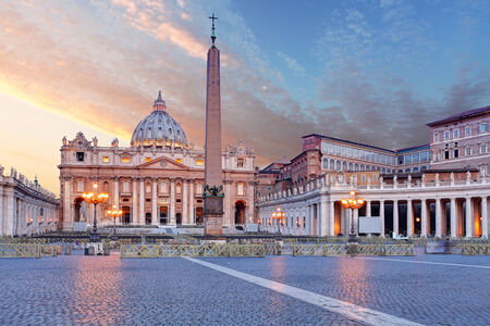 Vatican, Rome, St  Peter photo