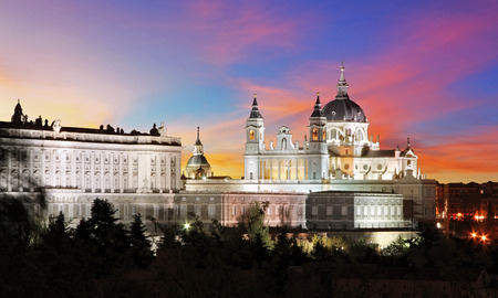 Spain, Madrid Cathedral Almudena