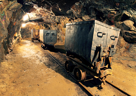 mining: Underground mine tunnel, mining industry