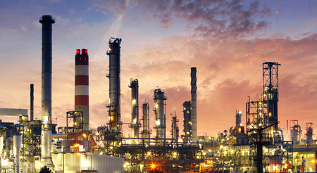 petroleum: Factory - oil and gas industry