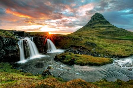 Iceland Standard-Bild