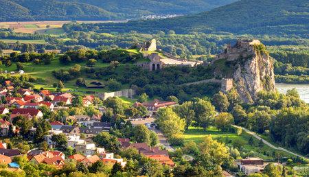 morava: Bratislava - Ruin of castle Devin, Slovakia