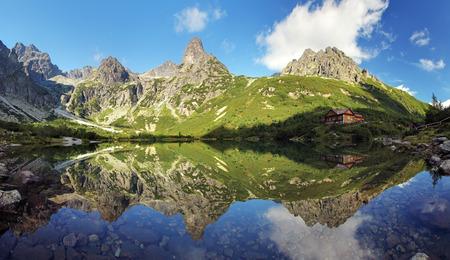 Green lake in Tatras - Slovakia photo