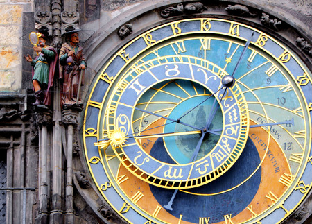 prague: Prague Astronomical Clock (Orloj) in the Old Town of Prague