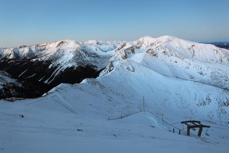 Night mountain - Tatras at winter photo