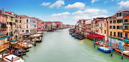 rialto: Venice - Rialto bridge and Grand Canal Editorial