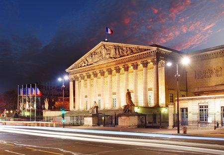 bourbon: Assemblee Nationale (Palais Bourbon) - the French Parliament, Paris