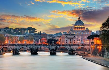 バチカン市国、ローマ 写真素材