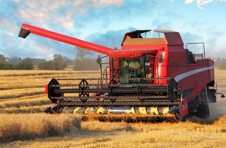 harvester: Field and harvester