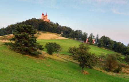 slovakia: Banska Stiavnica - Calvary, Slovakia