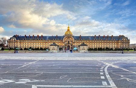 invalides: Les Invalides - Paris, France Editorial