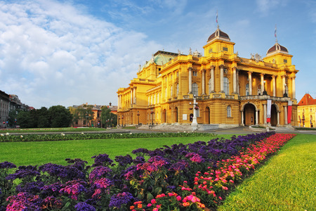 Teatro nacional croata, Zagreb