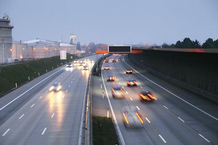Dálnice doprava Reklamní fotografie