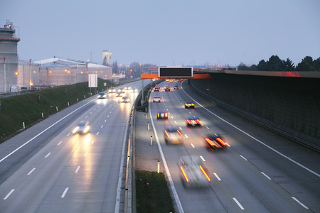 transportations: Highway transportation Stock Photo