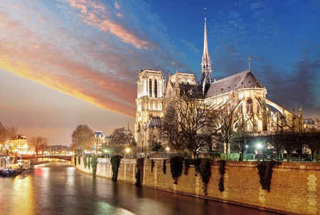 dame: Paris - Notre Dame Stock Photo