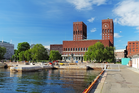 gildhall: City Hall - Radhuset, Oslo, Norway