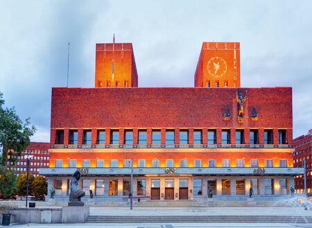 oslo: Oslo city hall, Norway