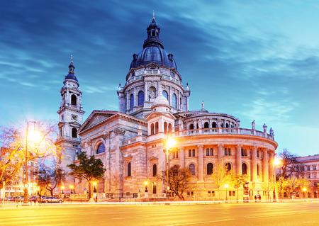 St. Stephen basilique à Budapest