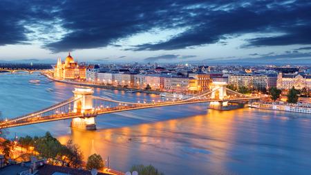 Boedapest Hongarije  Stockfoto
