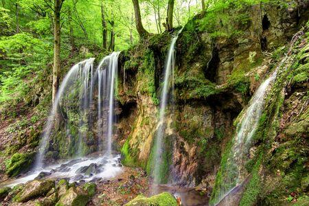 slovakia: Waterfall Hajske in Slovakia Stock Photo