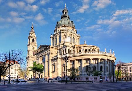 stephen: St. Stephens Basilica in Budapest Hungary Stock Photo