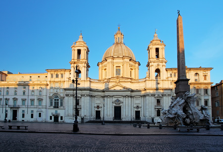 piazza: Piazza Navona, Rome. Italy Editorial