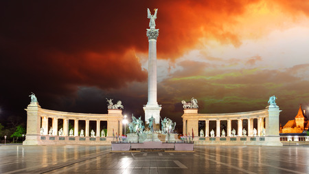 national hero: Budapest  Heroes square