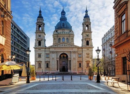 Budapešť - bazilika svatého Štěpána, Maďarsko