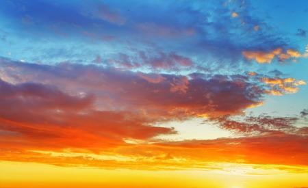 Sunset Sky 스톡 콘텐츠
