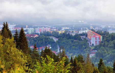 slovakia: City Cadca in Slovakia