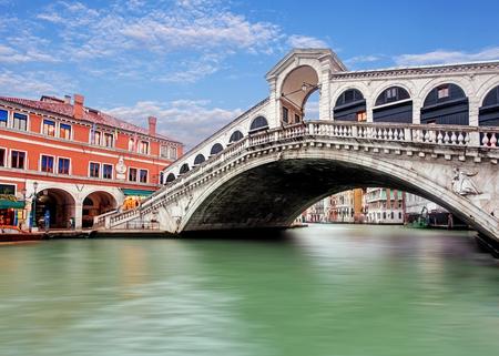 rialto bridge: Rialto bridge - Venezia Stock Photo