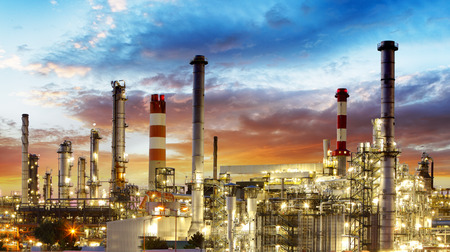Öl-Raffinerie