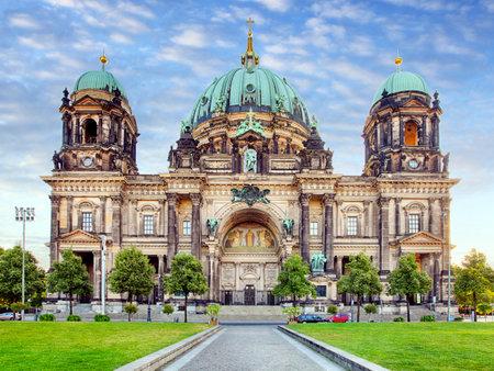 dom: Berlin, Berliner dom at day, nobody