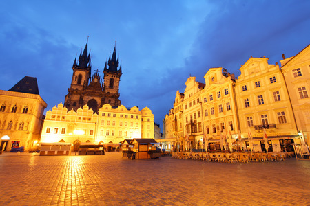 old town square: Prague - Old Town Square