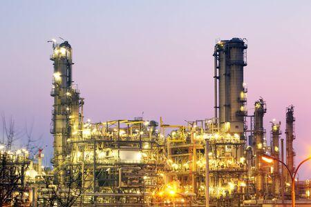 refinería de petróleo: Inustry - Refinería de petróleo, Planta petroquímica