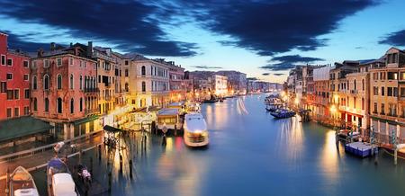 rialto: Panorama of Venice from Rialto bridge