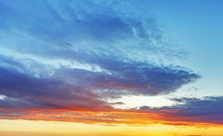 sky background: Color sky background