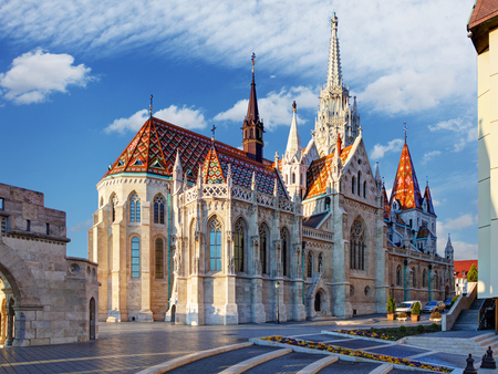 halaszbastya: Budapest - Fisherman bastion, Hungary Editoriali