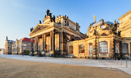 fine arts: The Dresden Academy of Fine Arts is a vocational university of visual arts located in Dresden, Germany. Stock Photo
